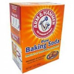 A packet of Baking Soda