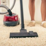 Vacuum on carpet